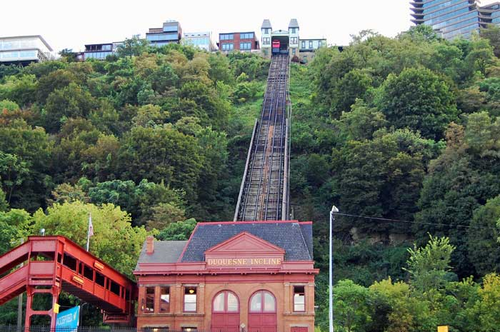 The Duquesne Incline in Pittsburgh is an inexpensive, fun way to spend a couple hours!