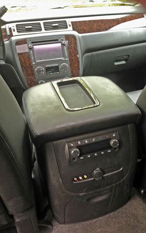 Yukon Denali backseat radio control