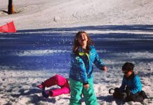 snowball fight at squaw valley