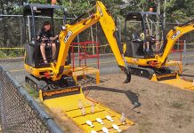 Diggerland USA is a construction themed amusement park in NJ.
