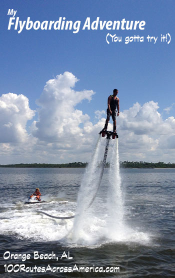 Flyboarding - super fun water sport!
