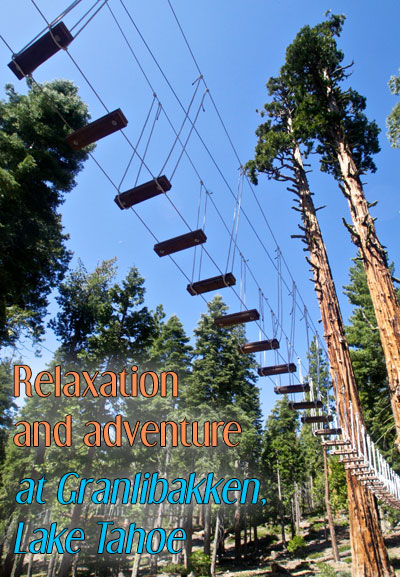 Treetop Adventure Park at Granlibakken Resort, Lake Tahoe