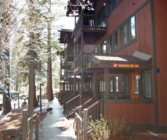 Accommodations at Granlibakken Resort, Lake Tahoe