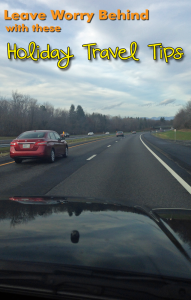 Holiday road trip travel tips.