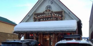 The quirky Shooting Star Saloon - Utah's oldest bar.