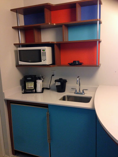Kitchenette at Cabana Bay Beach Resort Universal Orlando