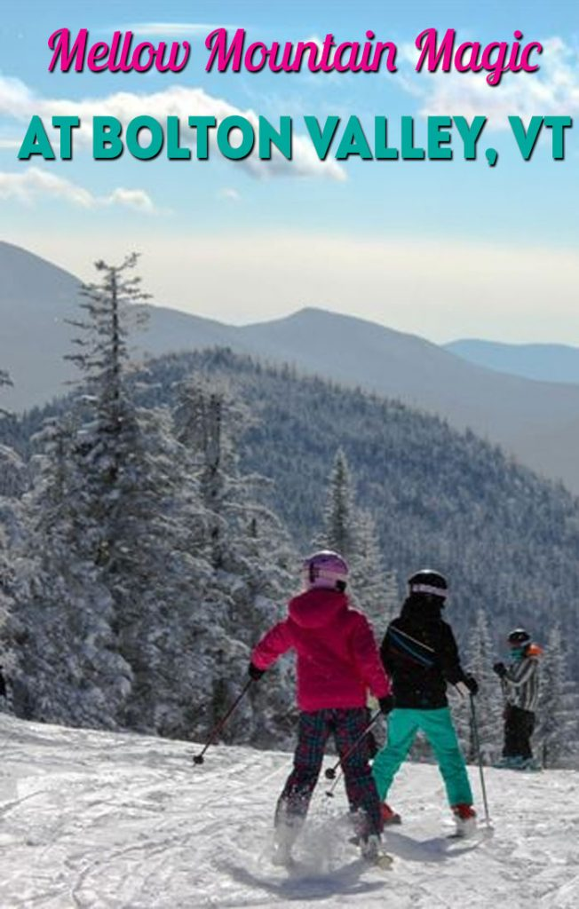 Mellow mountain magic for families at Bolton Valley, VT.