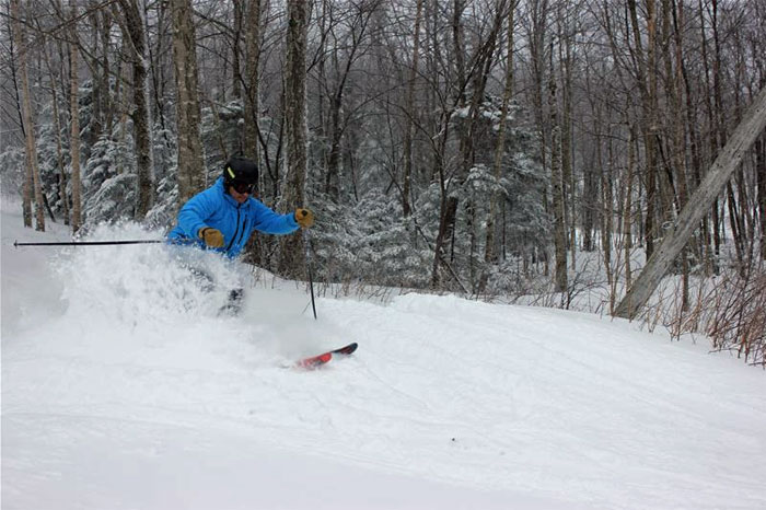 You'll find gorgeous views and consistently good conditions at Bolton Valley, VT.