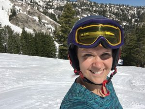 Spring skiing at Squaw Valley, CA. Spring skiing capital!