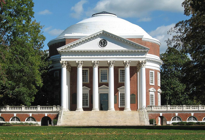 The Rotunda at the University of Virginia, Charlottesville.