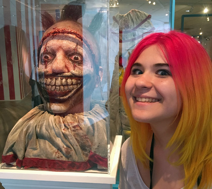 Any good Southern California vacation should include some stops related to your favorite TV shows or movies. Like this exhibit from American Horror Story!