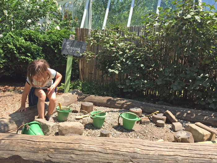 Hands-on activities for kids at Phipps Conservatory and Botanical Gardens in Pittsburgh, PA.