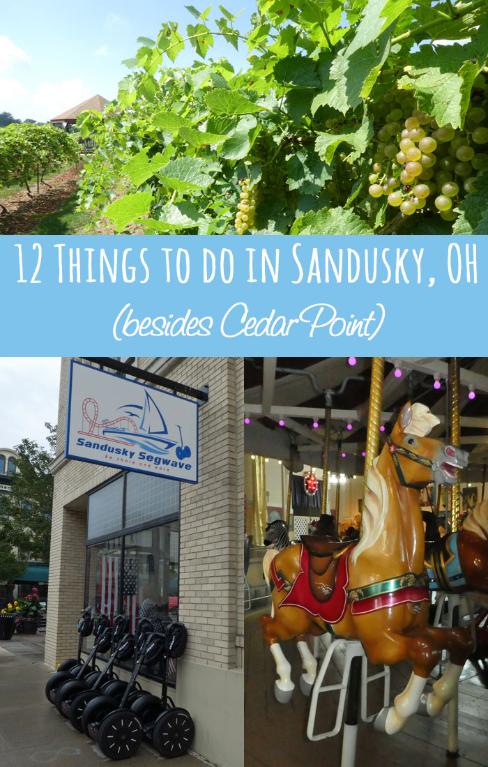 12 Things to do in Sandusky besides Cedar Point!