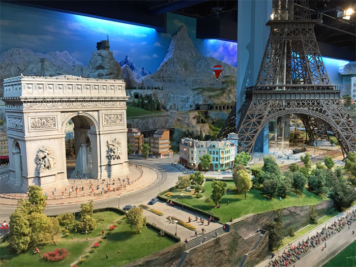 Experience the world in miniatures at Gulliver's Gate in NYC.