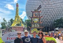 family at Epcot