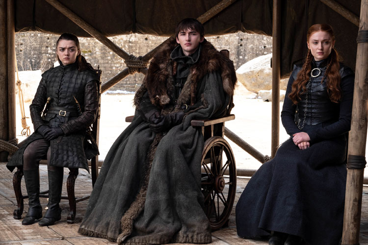 Bran the Broken on Game of Thrones