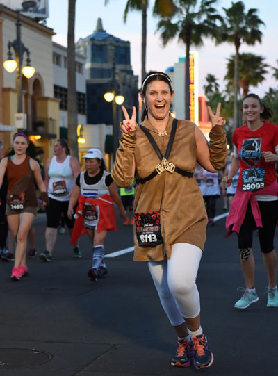 running the Star Wars Half Marathon