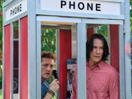 Bill and Ted in phone booth